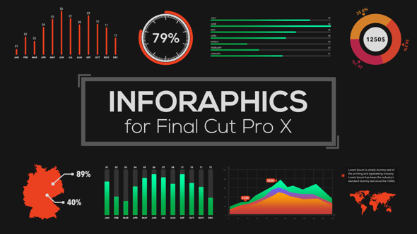 VIDEOHIVE INFOGRAPHICS BUILDER FOR FINAL CUT PRO X - APPLE MOTION ...