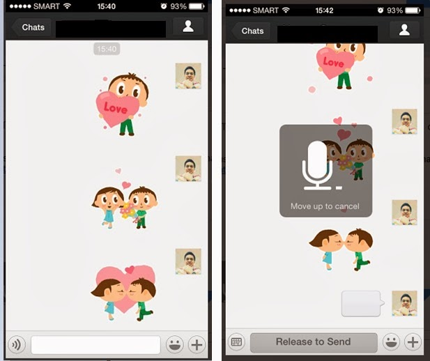 WeChat lets you feel messages