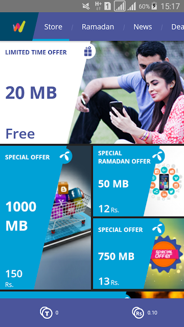 free internet trick on telenor