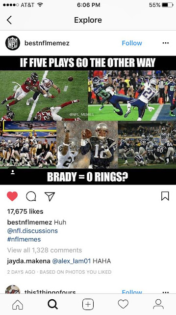 #patriots- If #five plays go the other way #brady = 0 #rings?