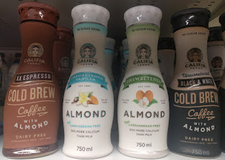 Califia Farms almond milk range