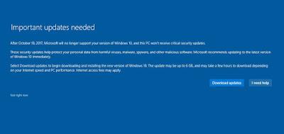Menunggu Loading Update Software