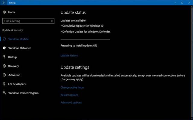 Pembaruan Windows 10 Fall Creators Update Ke Build 16299.665