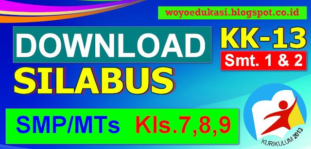 SILABUS MTs AQIDAH AKHLAQ KURIKULUM 13 KELAS 7, 8, 9