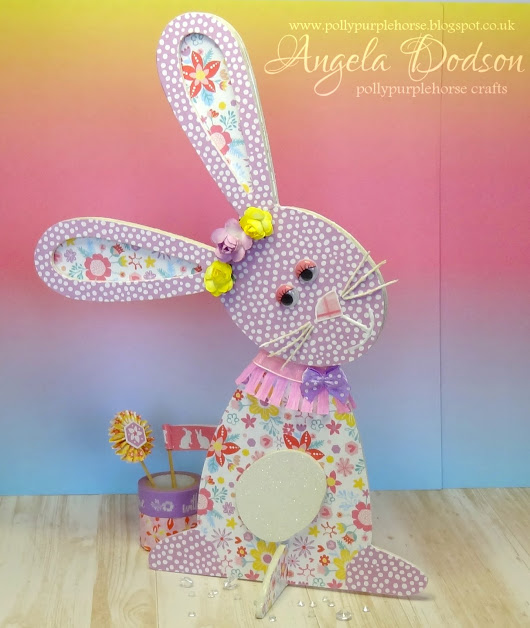 Blooming Lovely Spring Bunny - Trimcraft DT