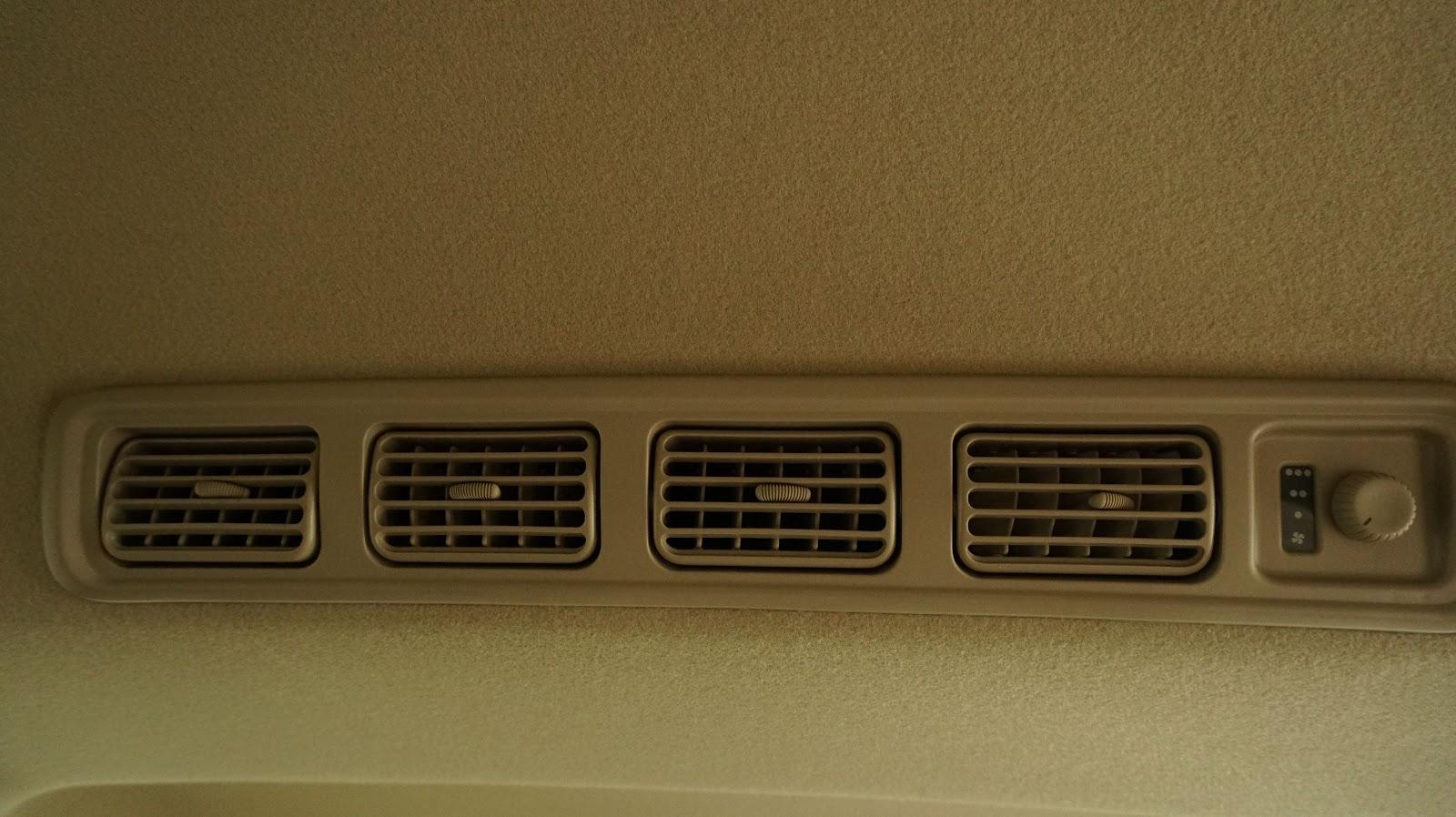 Hệ thống điều hòa công suất lớn đảm bảo xe luôn mát mọi lúc, mọi nơi