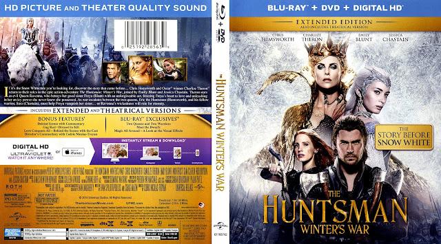 The Huntsman: Winter's War Bluray Cover