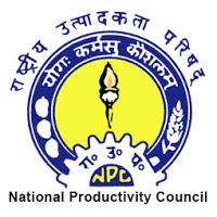 National Productivity Council Recruitment