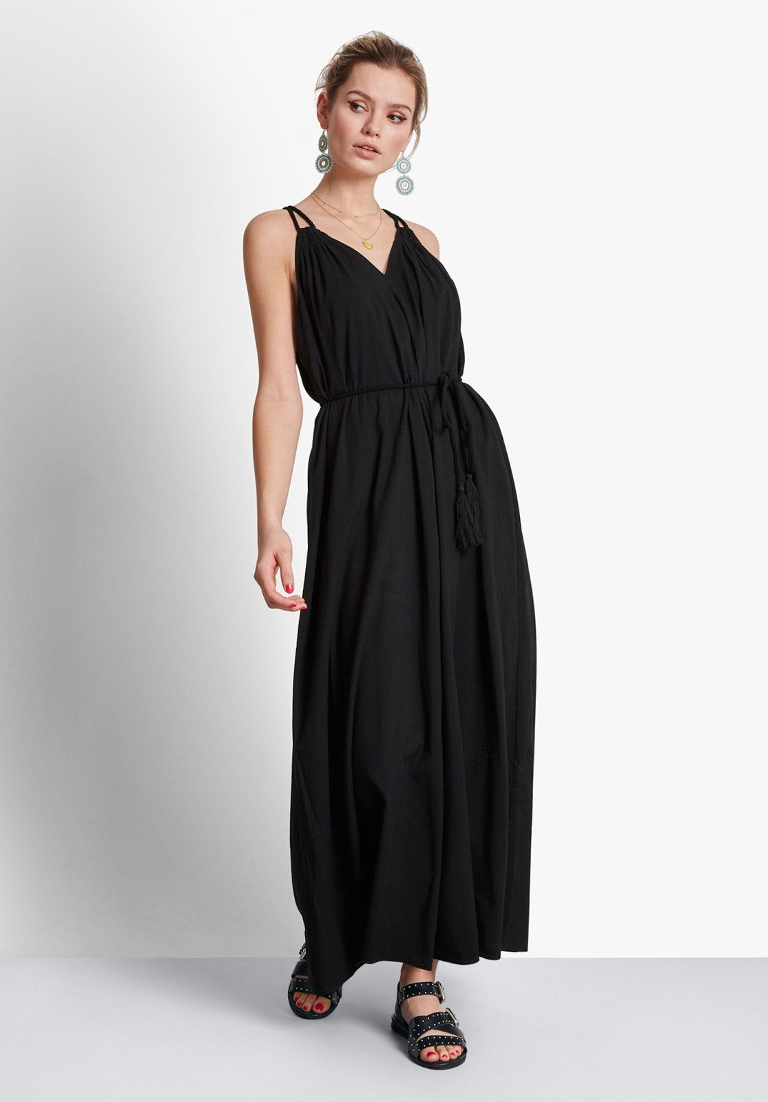 hush vali maxi dress