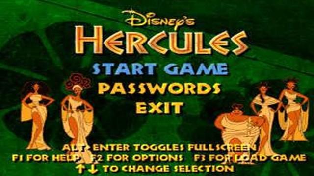 Download Disney Hercules PC Games