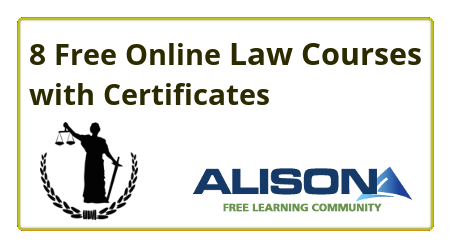Free, Online, Certificate, Courses, law, legal, attorney, Lawyers, court