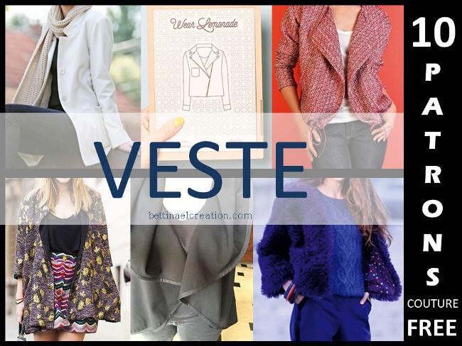 De Bettinael Plusieurs Veste Modeles 10 Gratuit Patrons Passion wwF4qB