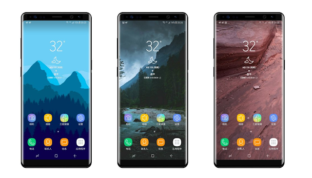 Take a look at these new renders of the gorgeous Galaxy Note 8