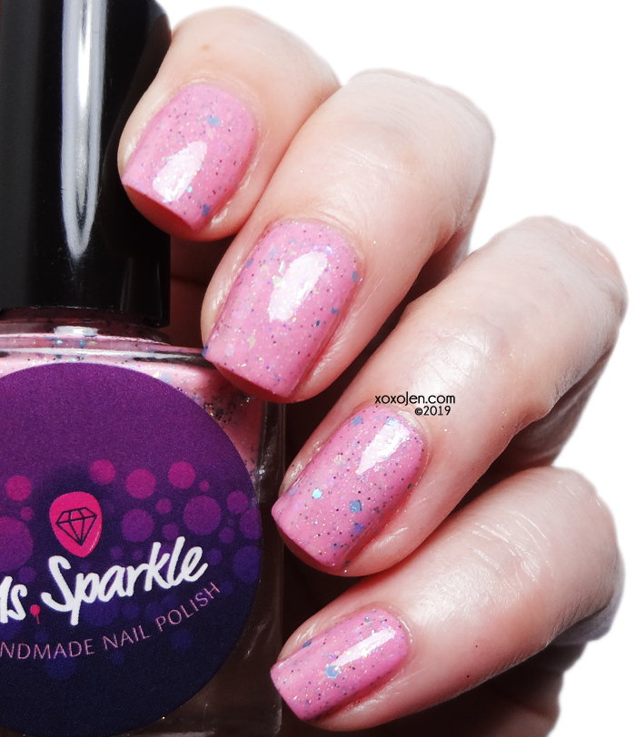 xoxoJen's swatch of Ms Sparkle Polly Pocket