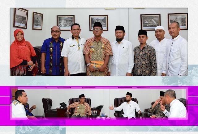 Silaturahim ke Pj.Walikota, PKS Kota Medan Sosialisasikin Program Peduli Tetangga