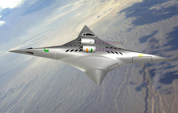 FUN TO BE BAD: NASA funds supersonic bi-directional flying ...