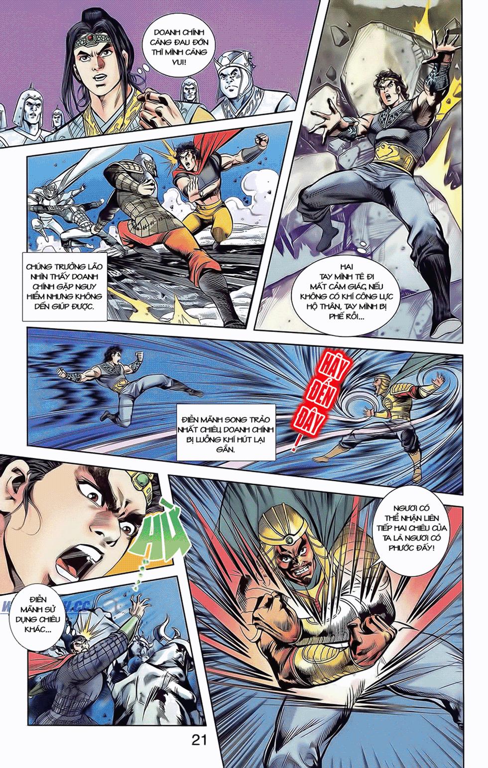 Tần Vương Doanh Chính chapter 9 trang 24