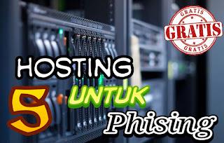 Daftar 5 Hosting Gratis yang Support Phising