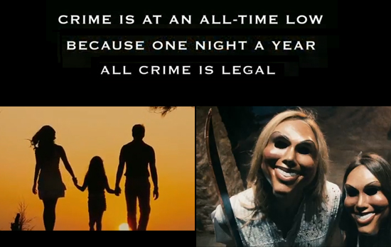 The Purge ~ The Crime Is at an all-time low | A Constantly Racing Mind