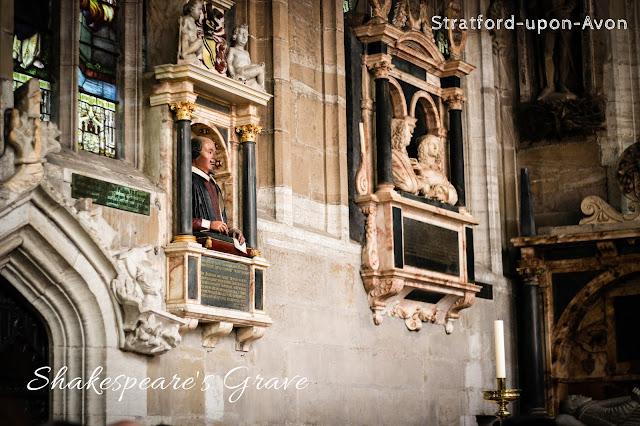 柯茲沃小鎮史特拉福Stratford-upon-Avon shakespeare's grave