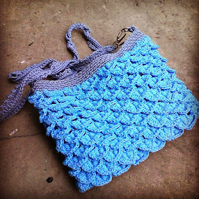 Crocodile stitch bag crochet inspiration