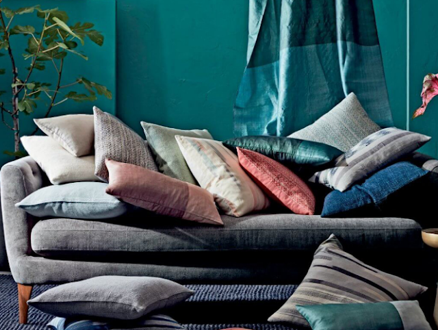 You can never have too many cushions, so look for good sofa