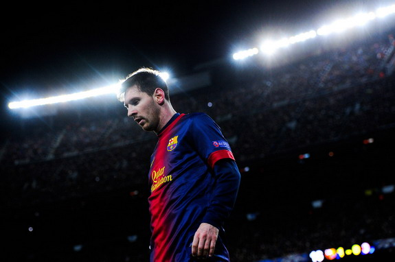 It won't be long until Lionel Messi's name is up in lights in the movie world