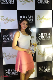 Andrea Jeremiah Spotted at Krish Crush Shop Launch in a Spicy White Tank Top and Mini Skirt Cute Pics