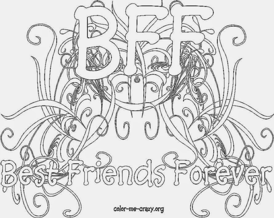 Bff Diploma Coloring Pages