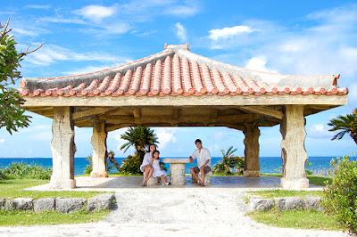 沖縄 家族写真 出張撮影 海