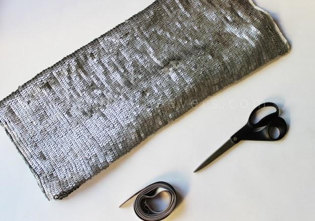 Pullu Kumaştan Abiye Bolero Dikimi - Resimli Anlatım 4