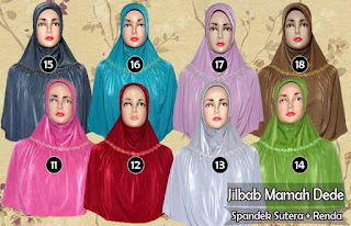 Jilbab mama dede instan model bergo modis dan syar'i