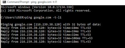 Cara Ping Google Di HP dan Komputer