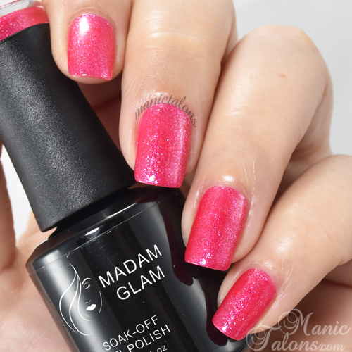 Madam Glam Gel Polish Fancy Pink Swatch