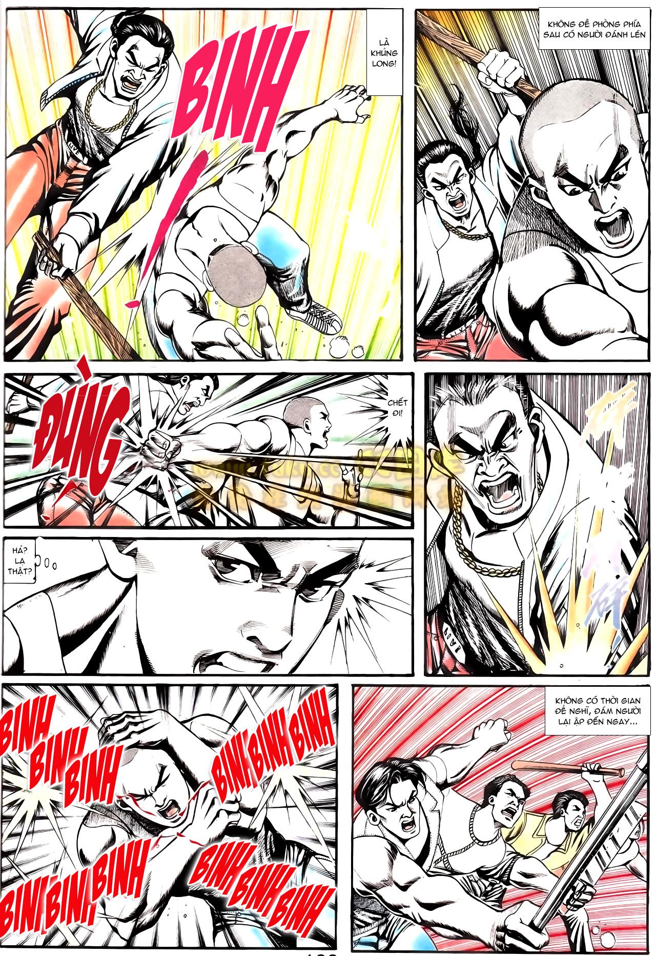 Người Trong Giang Hồ chapter 166: bùng nổ trang 9
