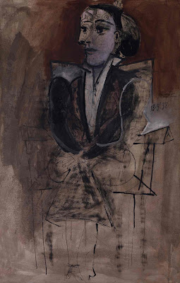 Picasso - Dora Maar seated,1938