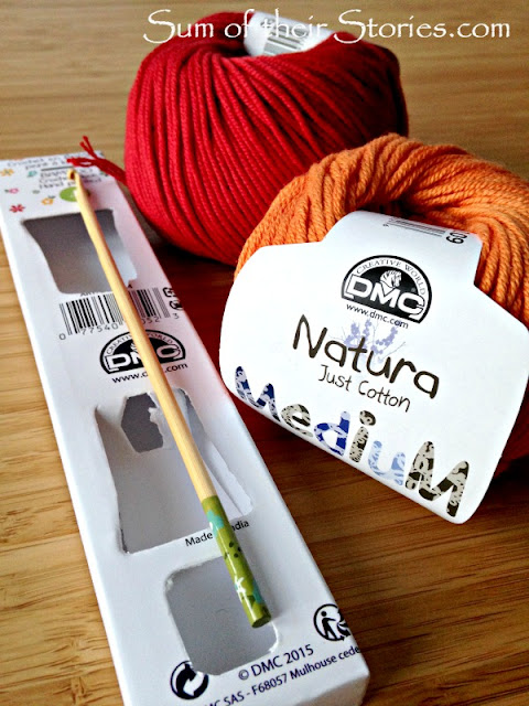 DMC just cotton natura yarn