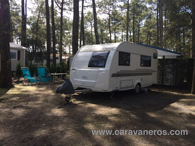 Foto de la Parcela Premium Camping Le Vieux Port | caravaneros.com