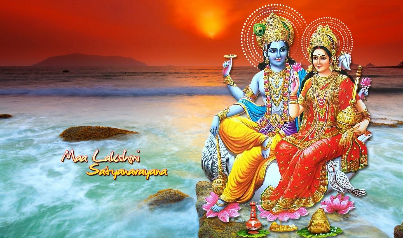 Lord Satyanarayan (Satyanarayana) Swamy HD Incredible Wallpapers | God Wallpaper