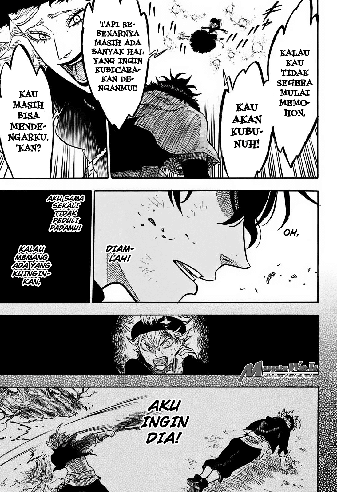 Manga Blackclover Chapter 29 Bahasa Indonesia