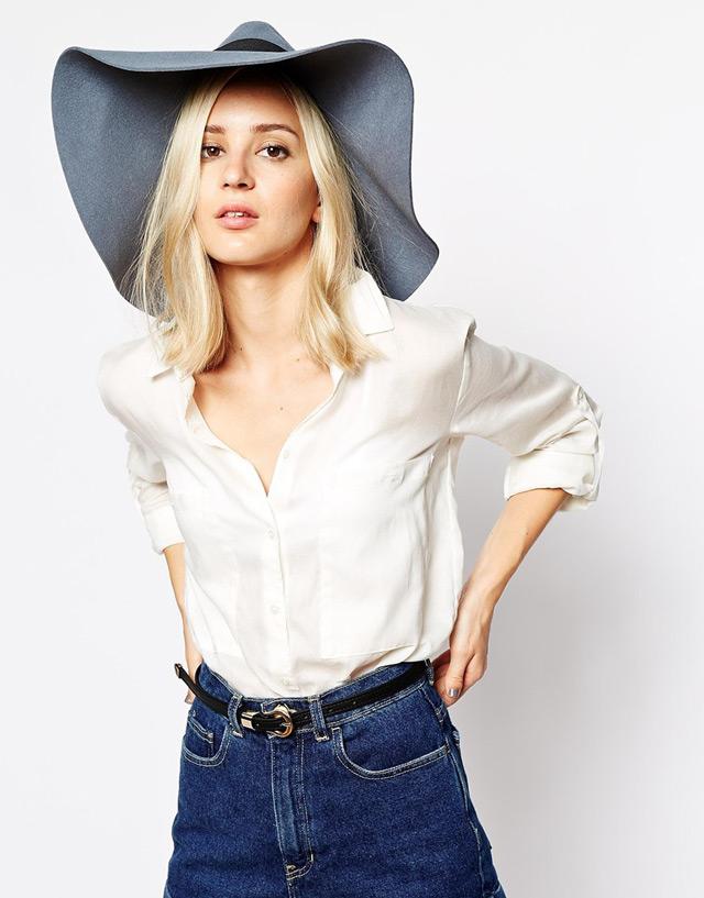 Fedora hat, rock you fall winter look