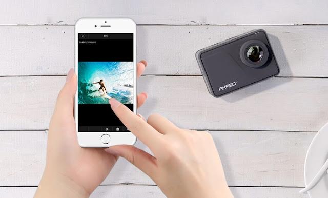 Akaso V50 Pro Native 4K waterproof action camera