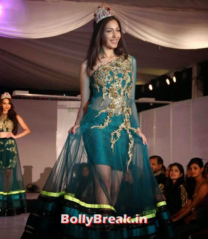 Gail Nicole Da Silva, Ex Bigg Boss Contestants at Welingkar's Tribute Fashion Show 2014
