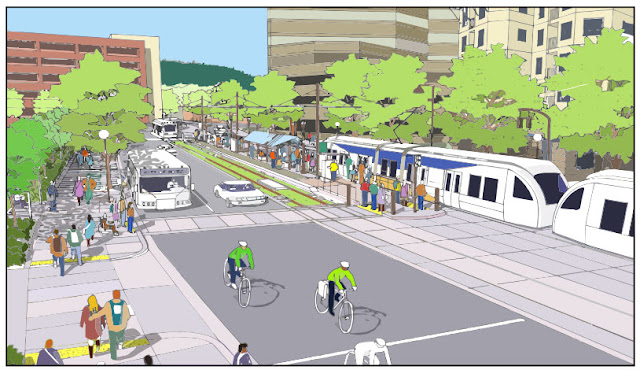 Eco-track-Proyecto de Tren Ligero de Transporte Portland-Milwaukie
