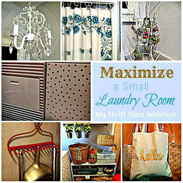 The Thrifty Way to Declutter Part 2  mythriftstoreaddiction.blogspot.com  Laundry Room Makeover