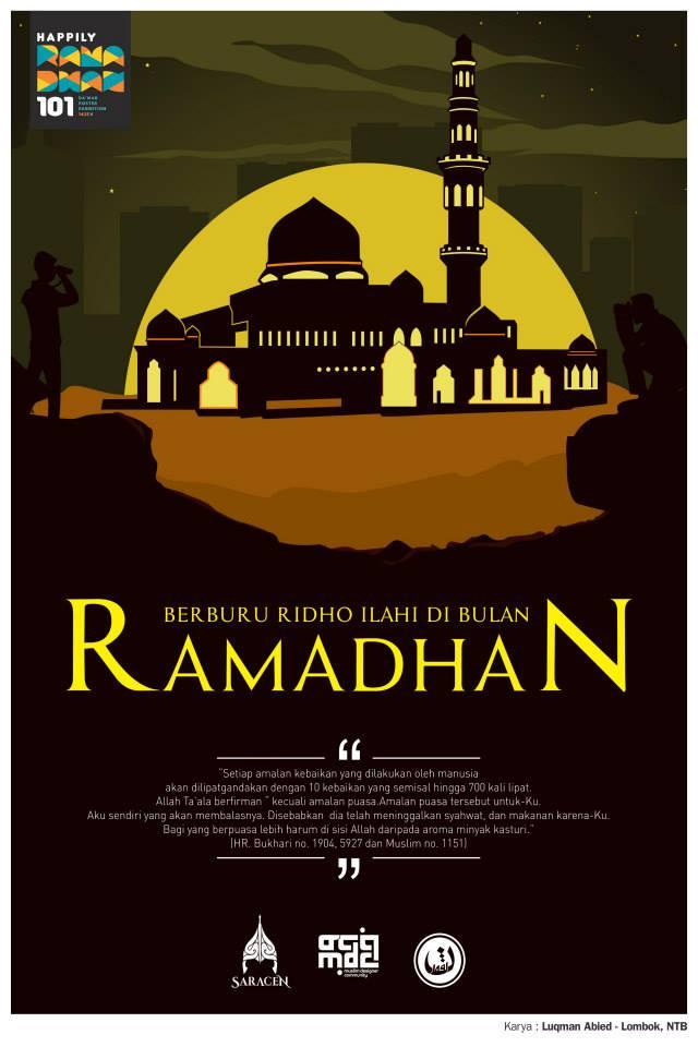 30 Poster Dakwah Happily Ramadhan 2015 / 1436H By MDC