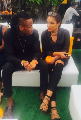 Photos: Gifty And Mr 2kay Spotted At Lagos Polo Club