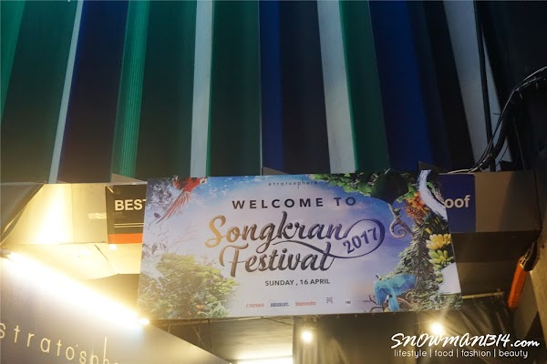 My First ever Songkran Festival at Stratosphere, First Avenue