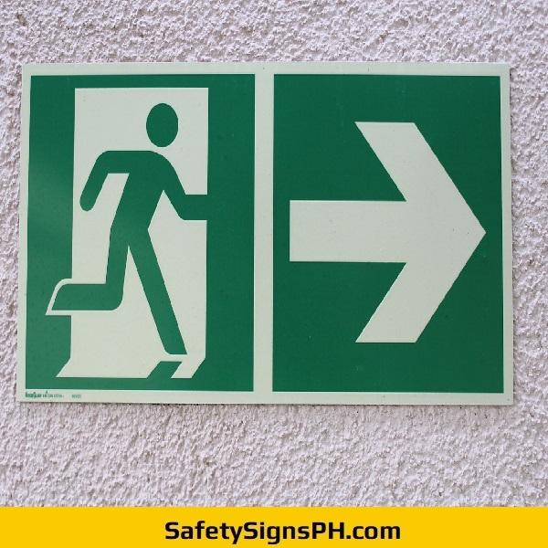 Luminous Fire Exit Sign Philippines