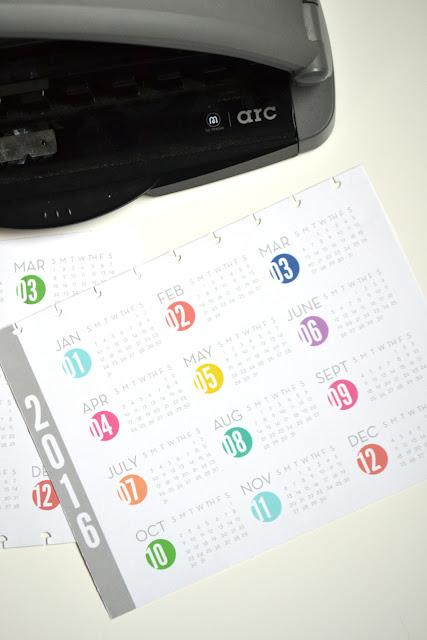 happy planner 2016 calendar